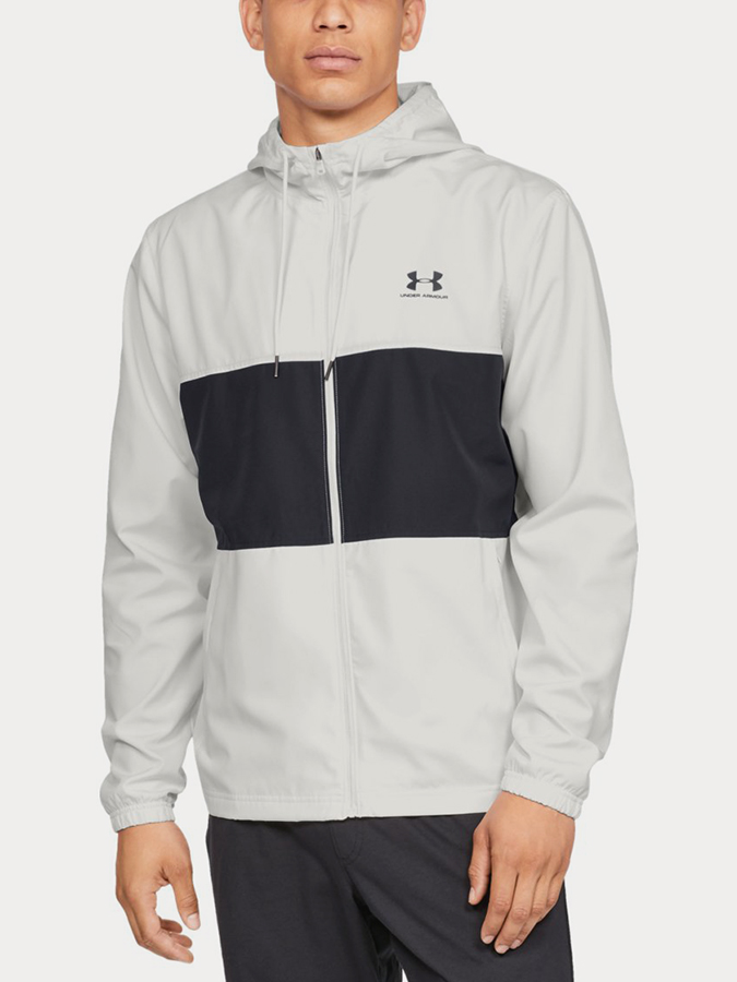 Bunda Under Armour Sportstyle Wind Jacket Bílá
