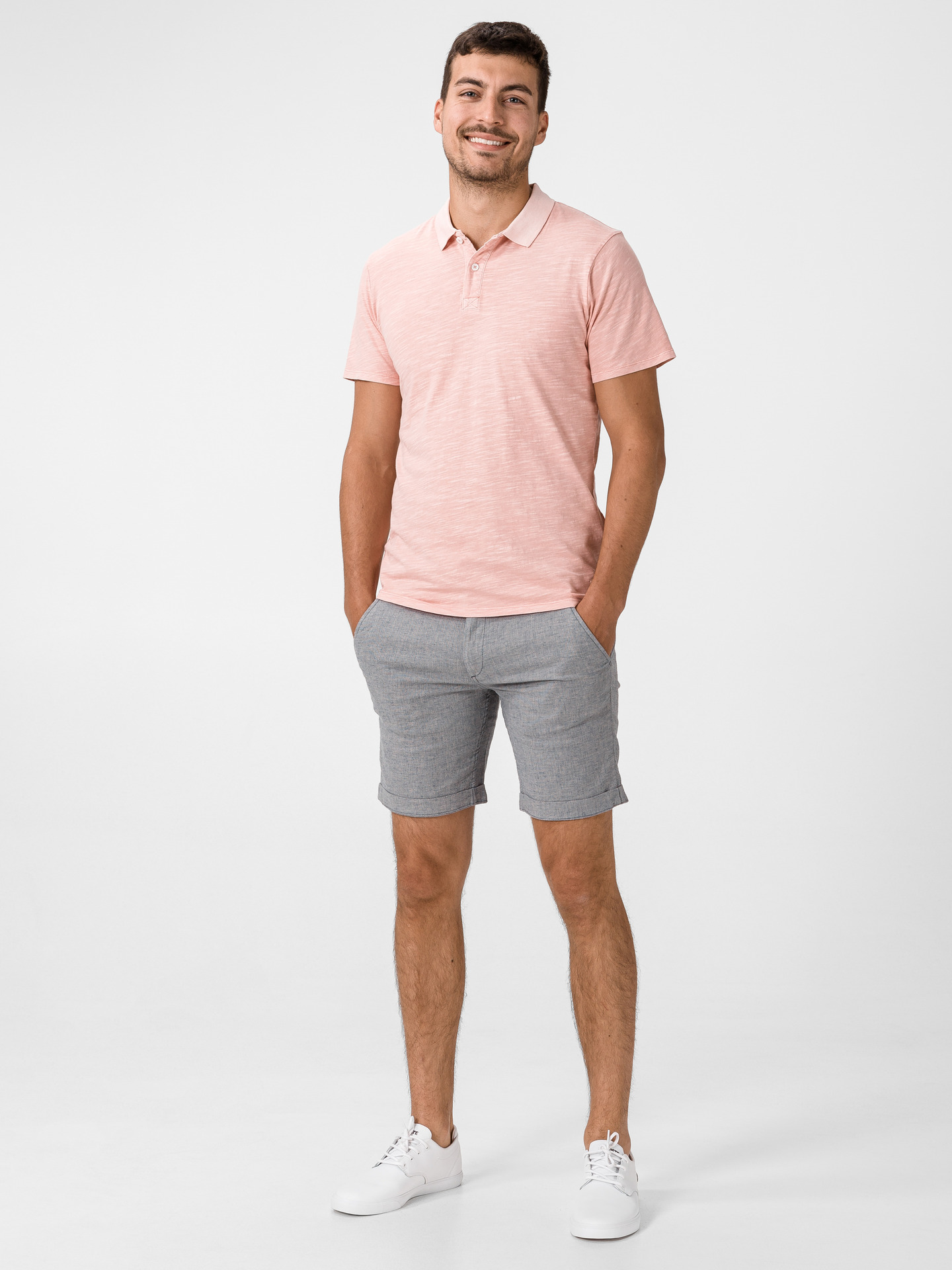 New Overdyed Polo triko Jack & Jones (2)