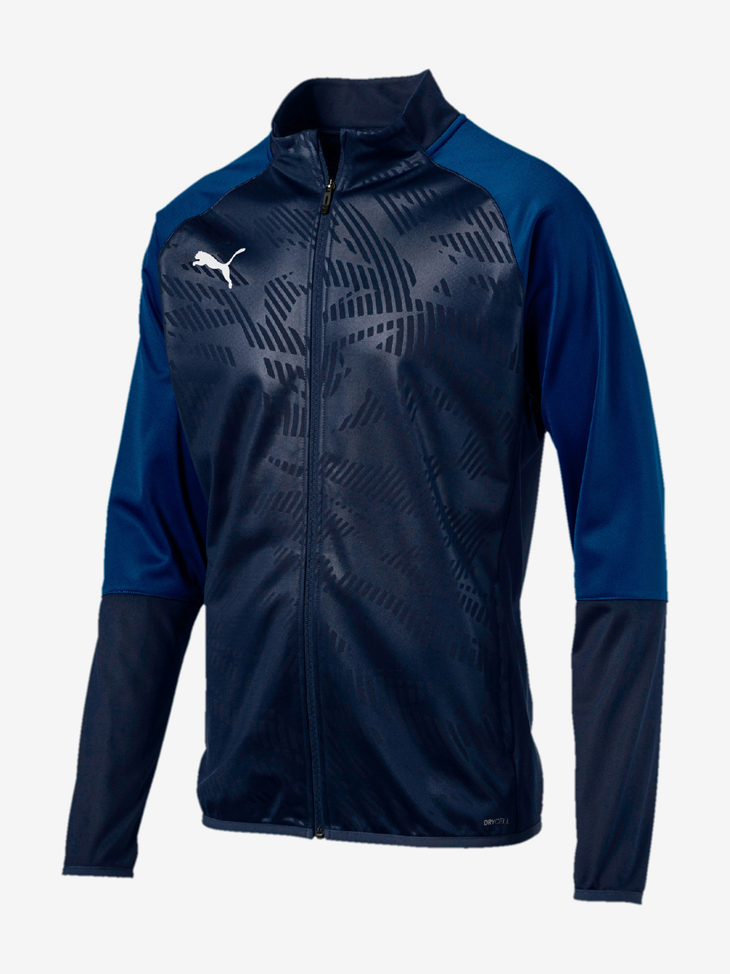 Bunda Puma Cup Training Poly Jkt Core Modrá
