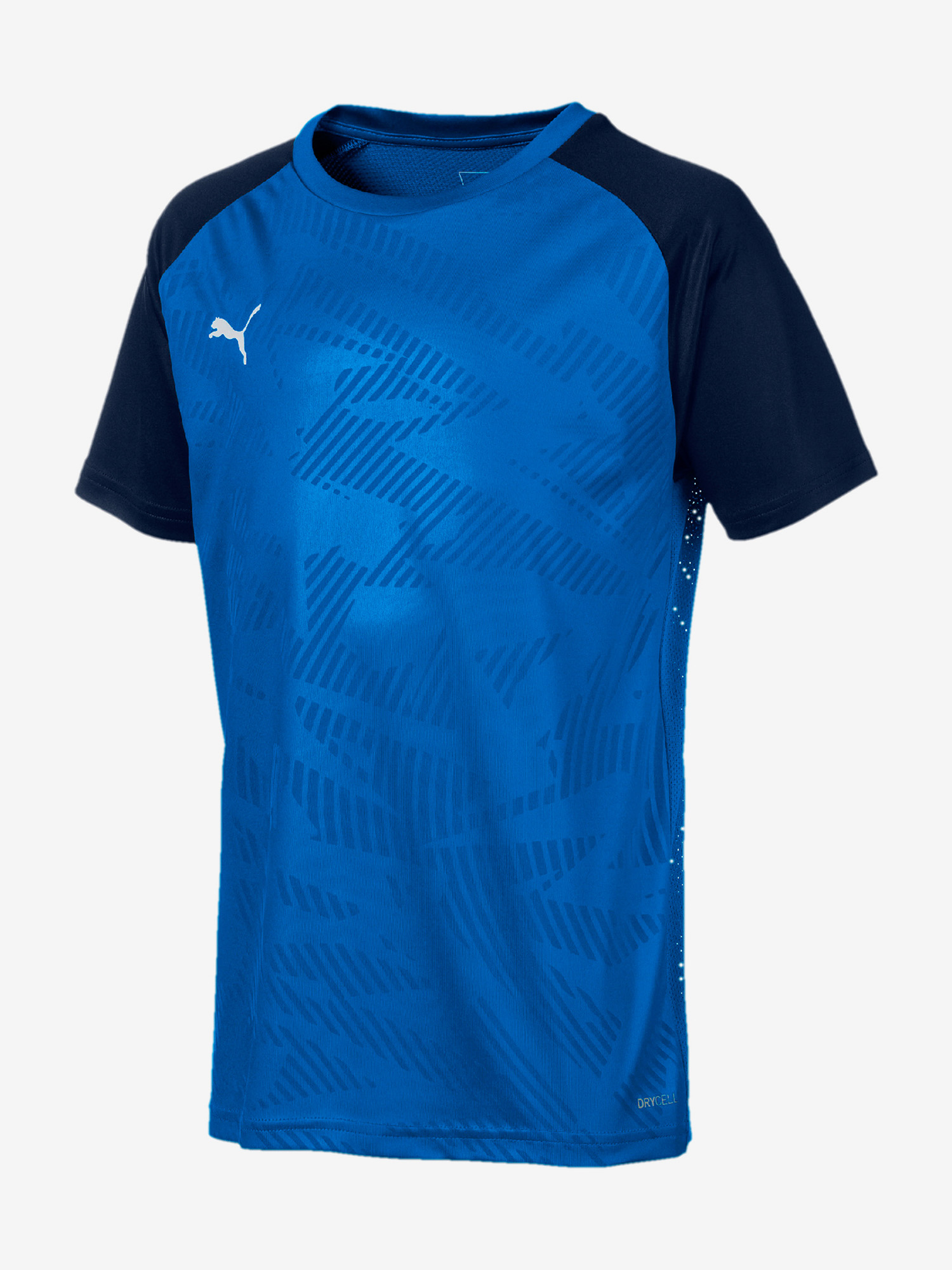 Tričko Puma Cup Training Jersey Core Jr Modrá
