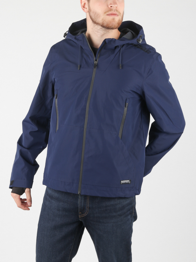 Bunda Superdry Technical Elite Windcheater Modrá