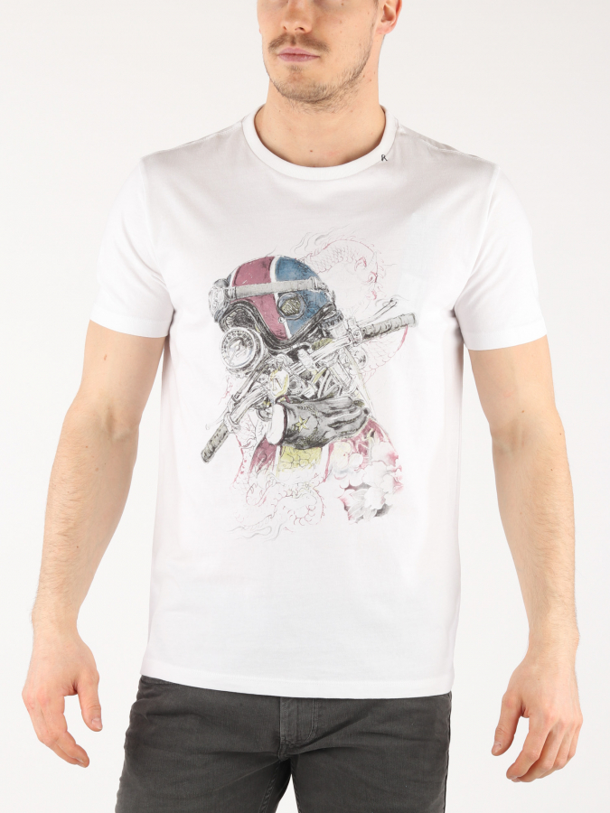 Tričko Replay M3608 T-Shirt (1)