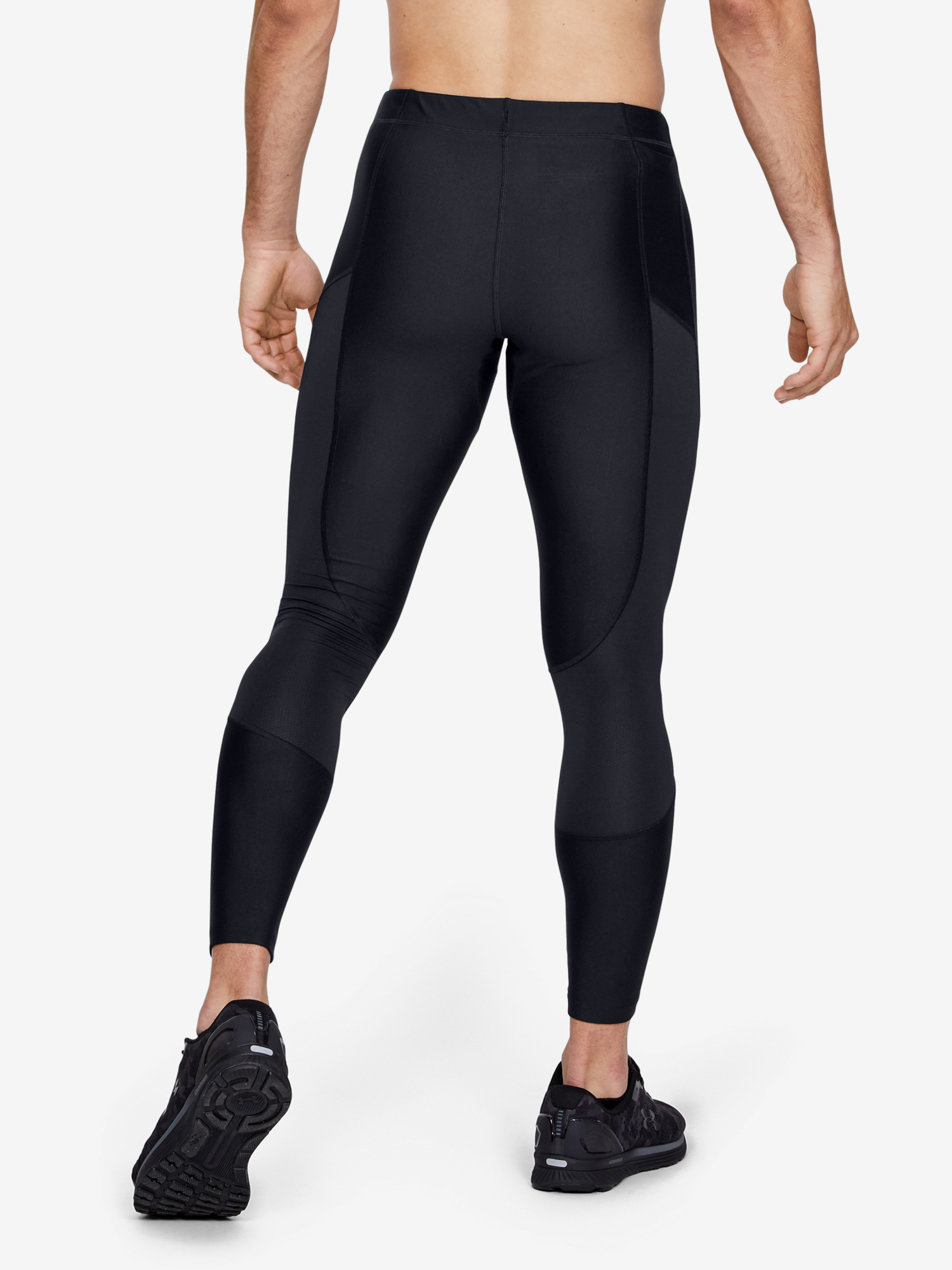 Kompresní legíny Under Armour Speed Stride Tight-Blk (2)