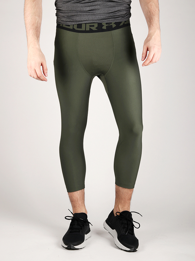 Kompresní legíny Under Armour HeatGear 2.0 3/4 Legging Zelená