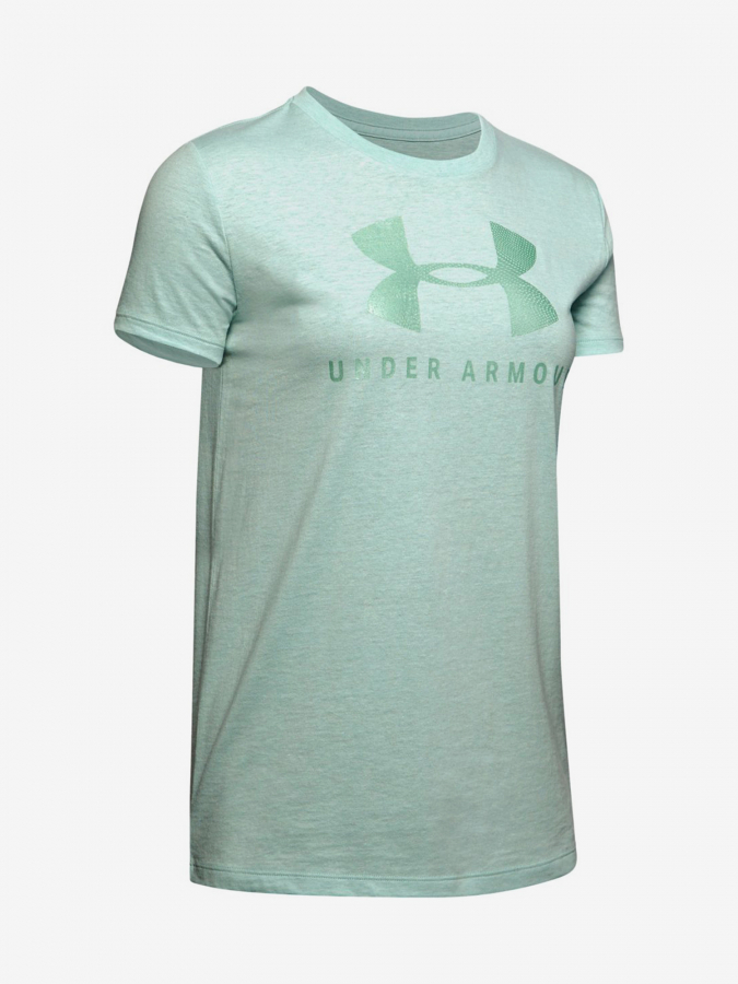 Tričko Under Armour Graphic Sportstyle Classic Crew-Grn Zelená