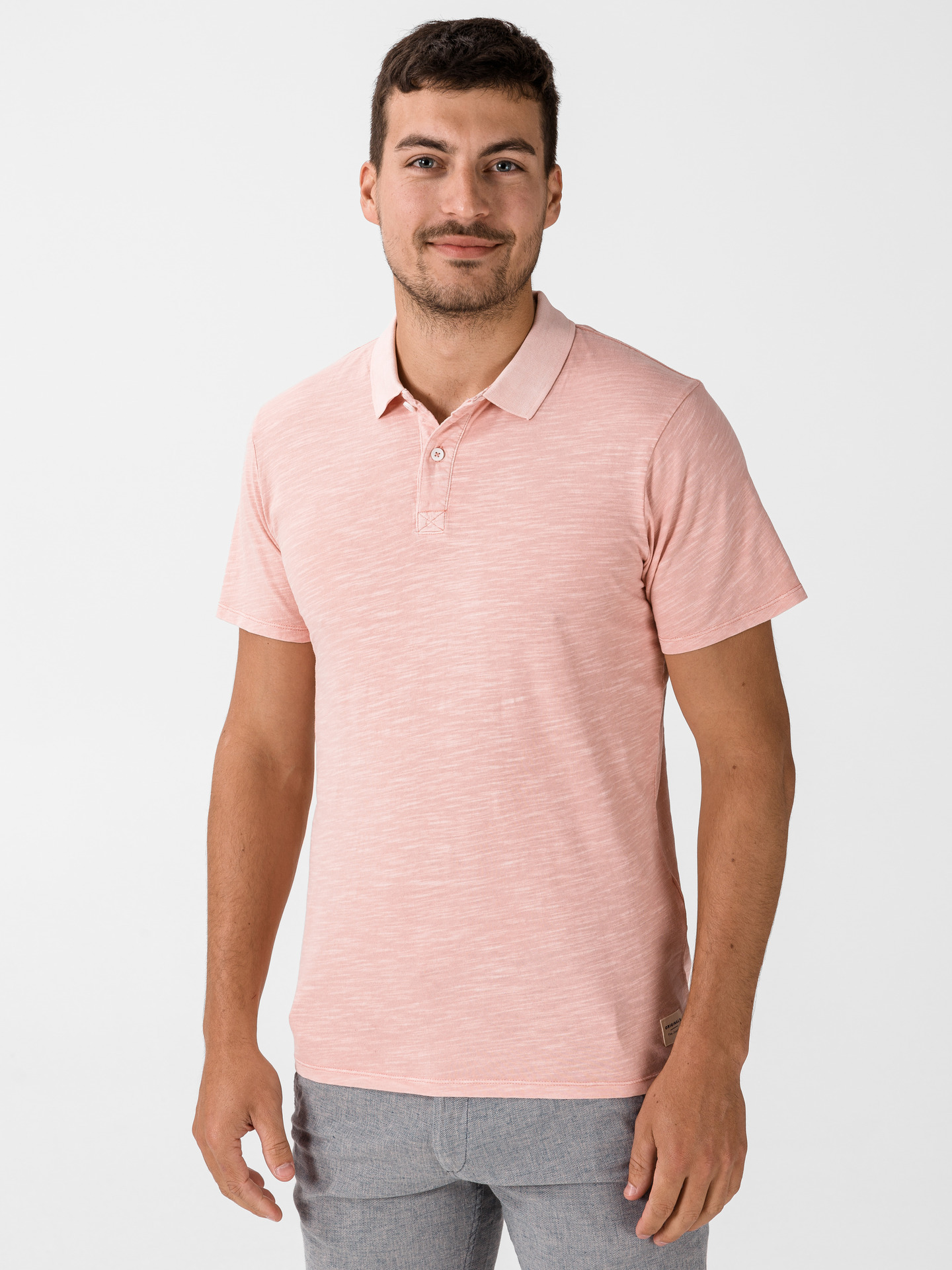 New Overdyed Polo triko Jack & Jones (1)