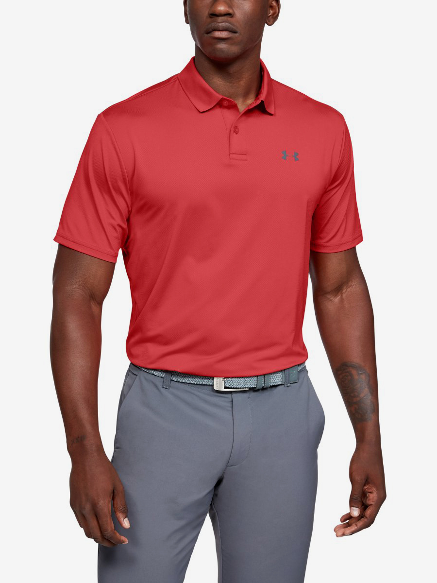 Tričko Under Armour Performance Polo 2.0-Red Červená