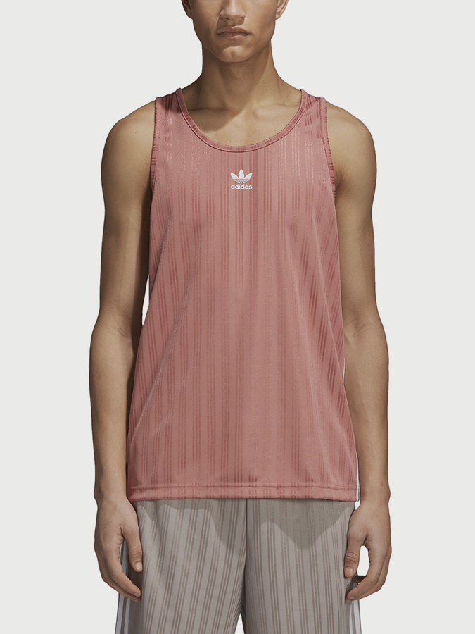 Tílko adidas Originals Football Tank Růžová