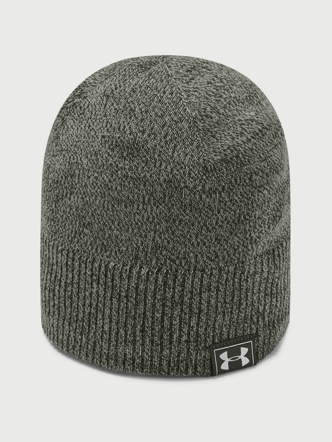 Čepice Under Armour Men's Reactor Knit Beanie Zelená