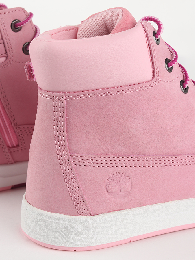 Boty Timberland Davis Square 6 Inch Prism Pink (7)