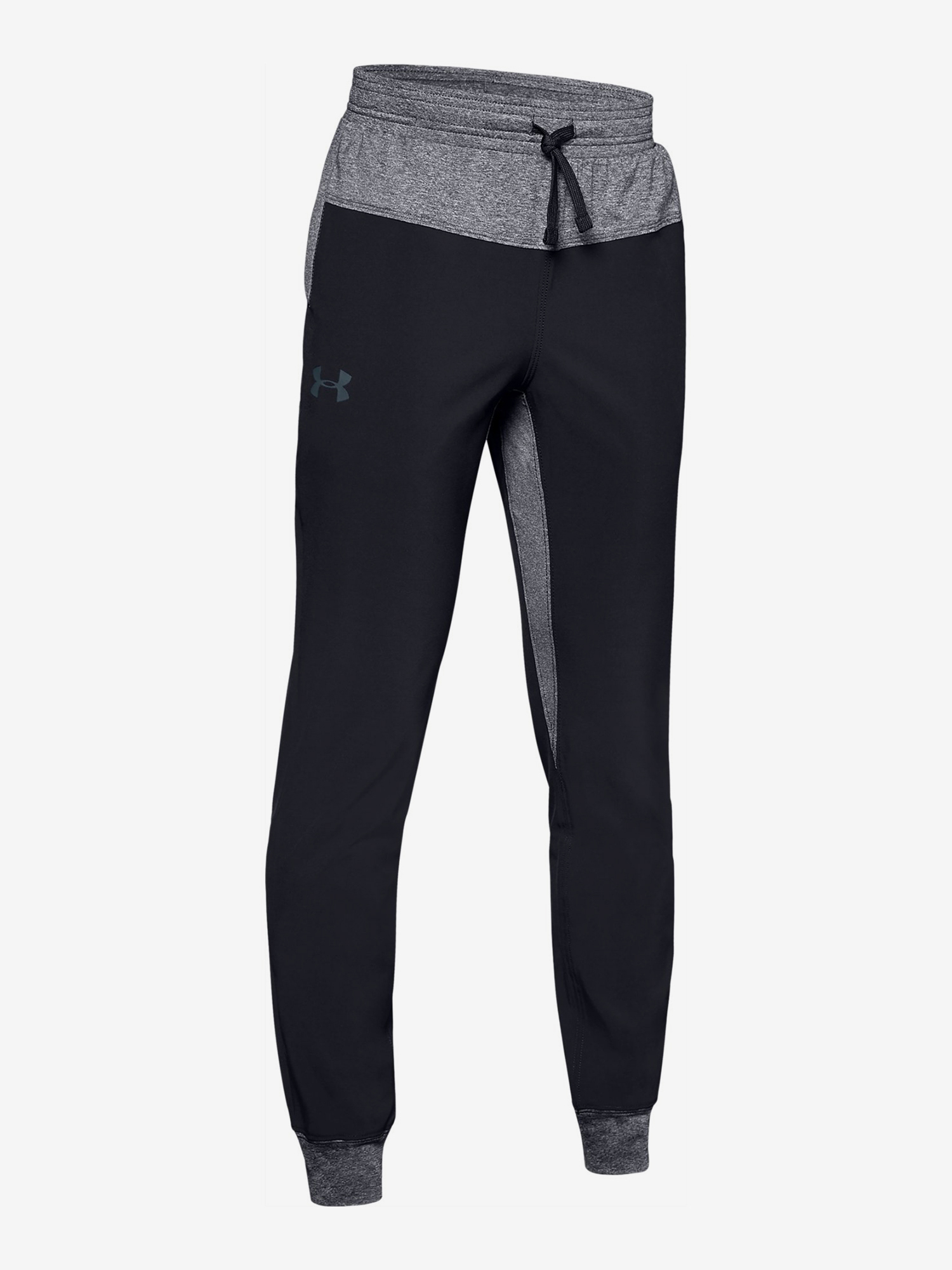 Tepláky Under Armour Woven Warm Up Jogger-Blk