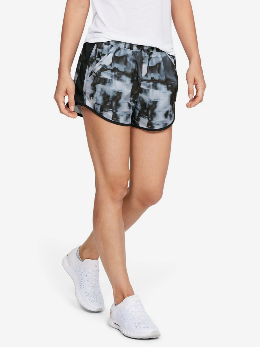 Kraťasy Under Armour Fly By Printed Short-Gry Barevná