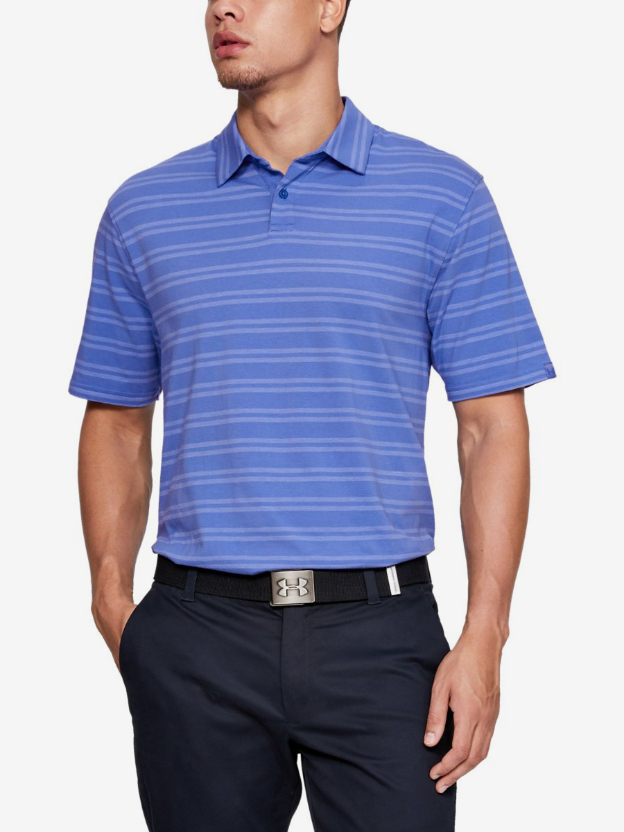 Tričko Under Armour Cc Scramble Stripe-Blu Modrá