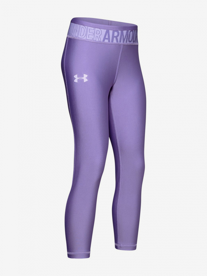 Legíny Under Armour Hg Ankle Crop-Ppl Fialová