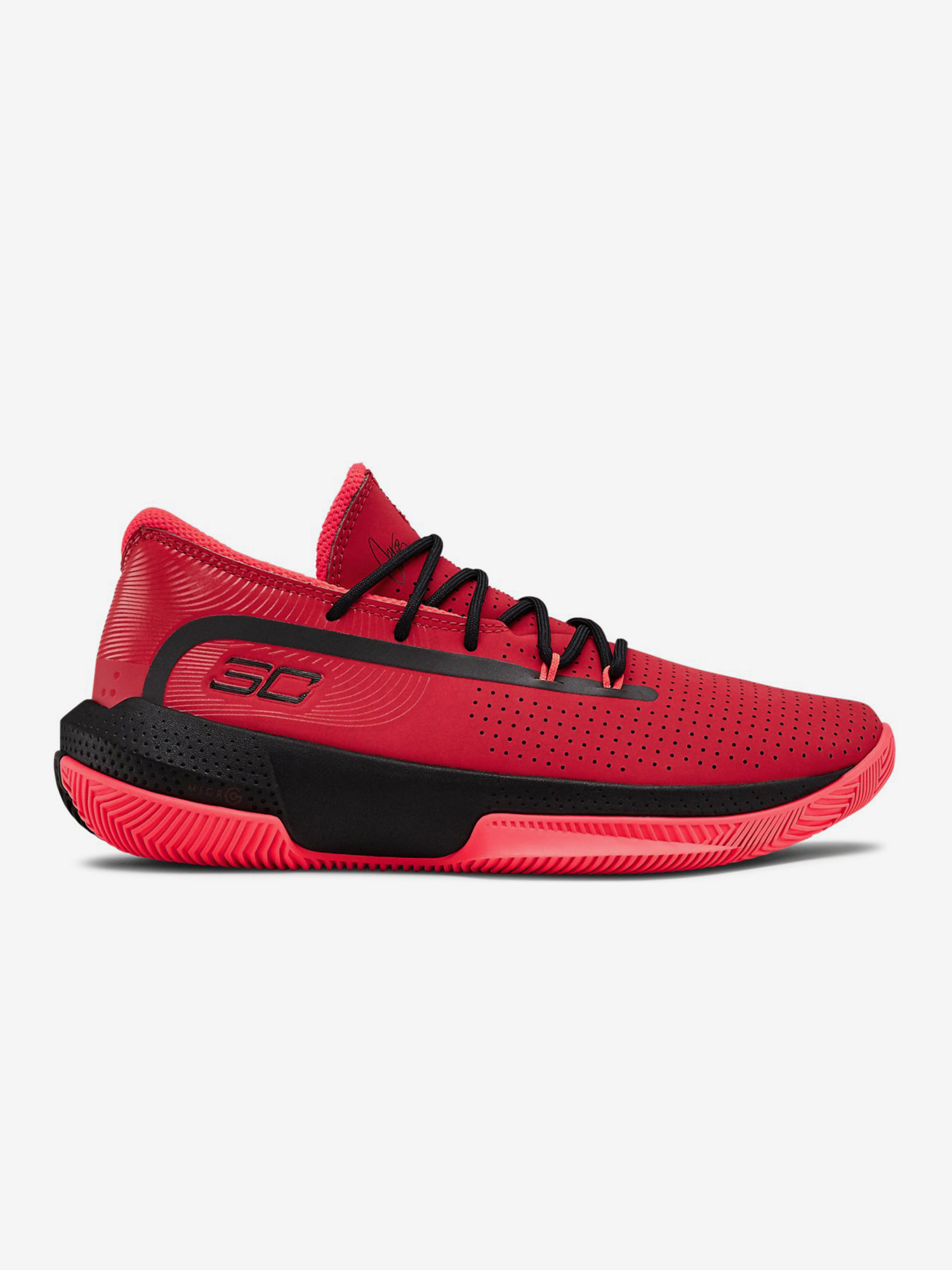 Boty Under Armour Gs Sc 3Zer0 Iii-Red