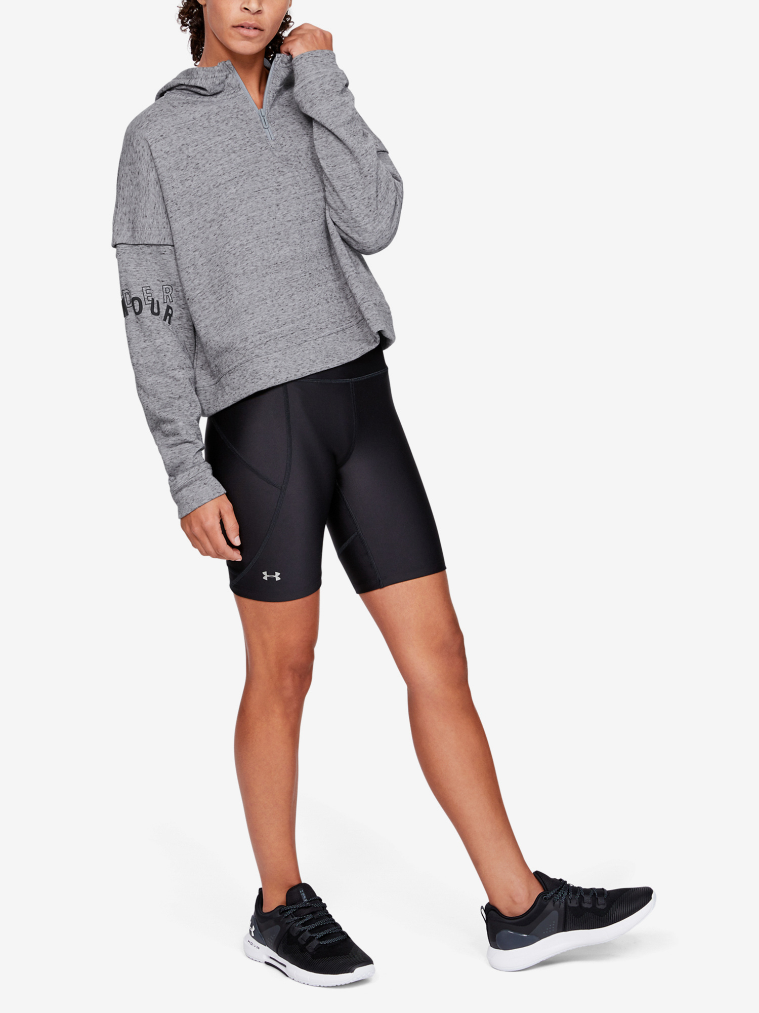 Mikina Under Armour Rival Terry 1 2 Zip Hoodie (6)