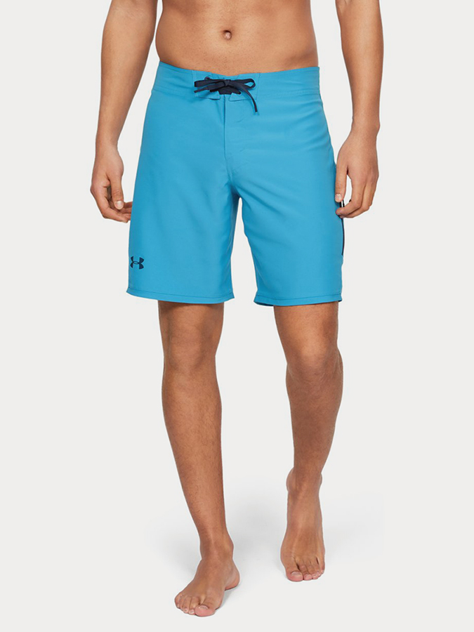 Boardshortky Under Armour Shore Break Emboss Boardshort Modrá