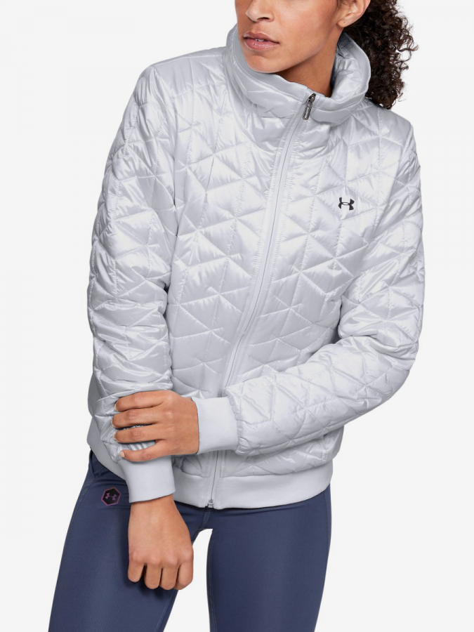 Bunda Under Armour Cg Reactor Performance Jacket-Wht Bílá