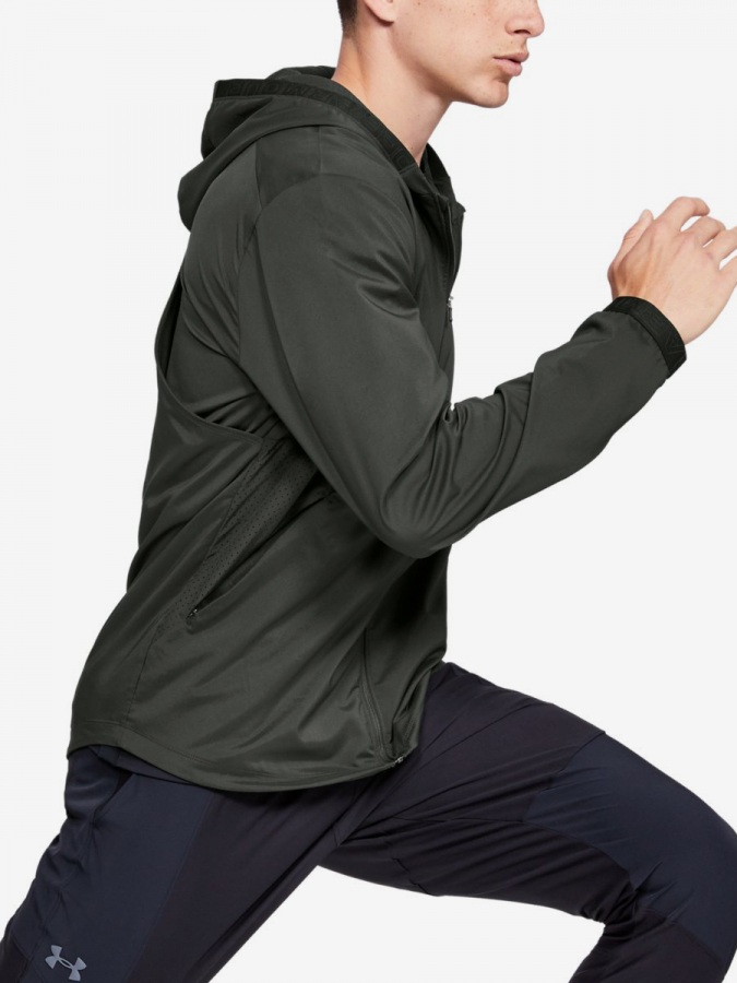 Bunda Under Armour Vanish Woven Jacket-Grn Zelená