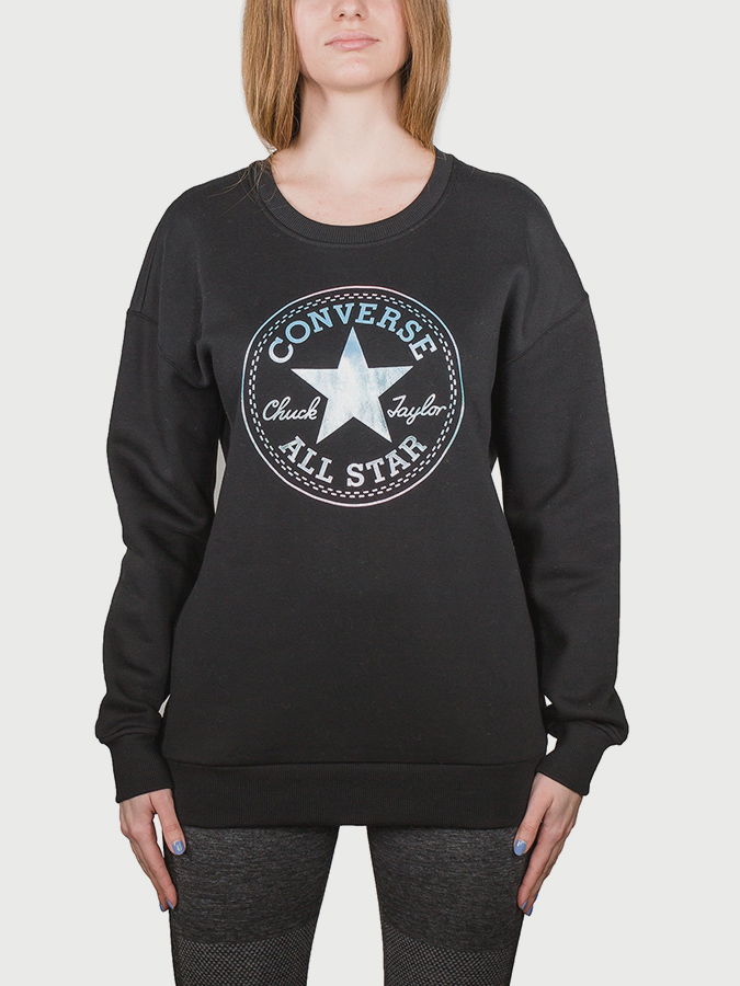 Mikina Converse Shine Pack Graphic Oversized Crew (1)