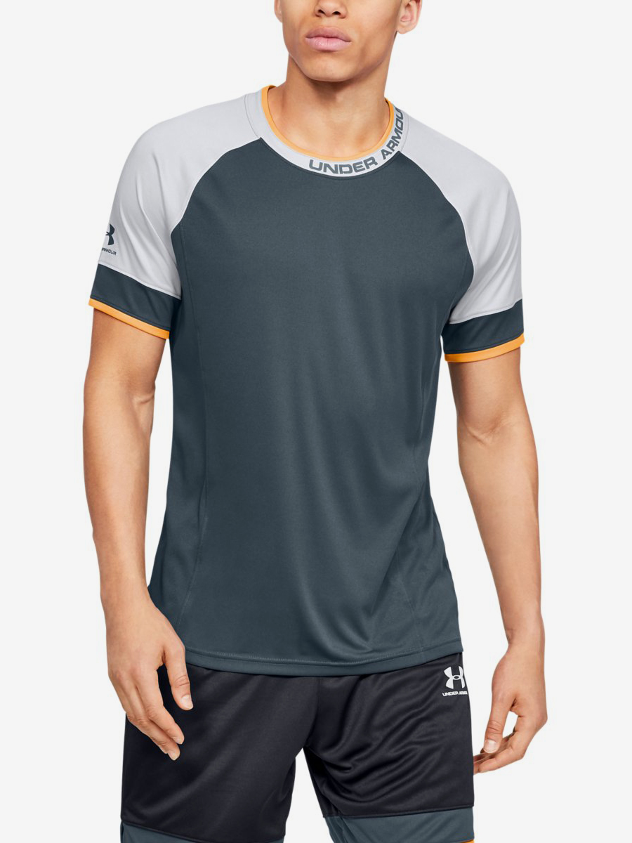 Tričko Under Armour Challenger Iii Training Top-Gry Zelená