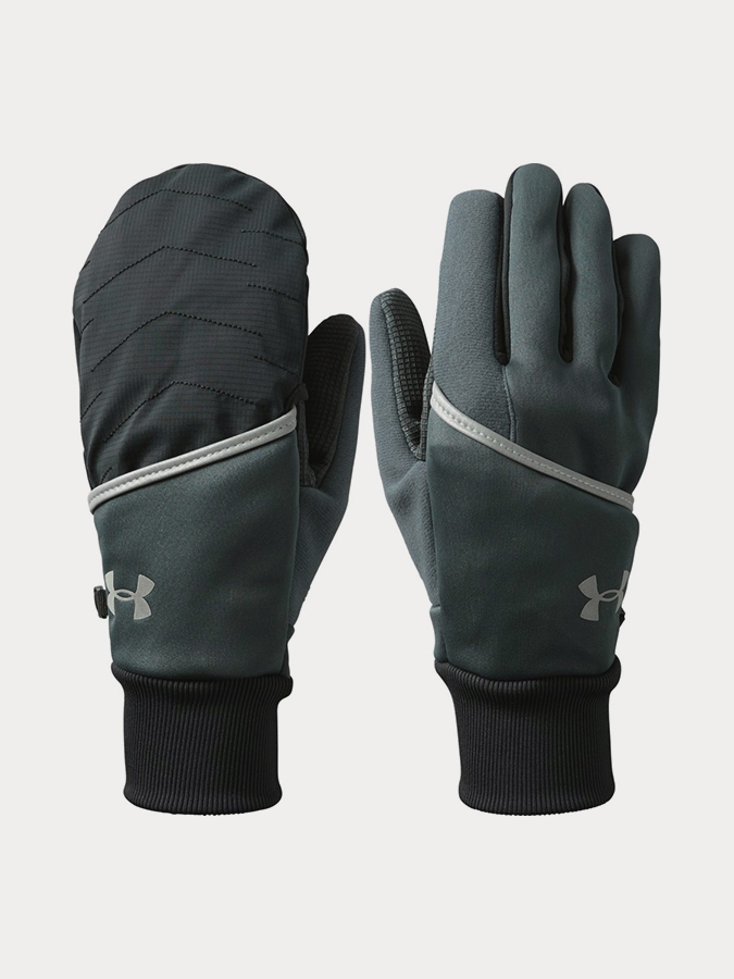 Rukavice Under Armour Men's Convertible Glove Šedá