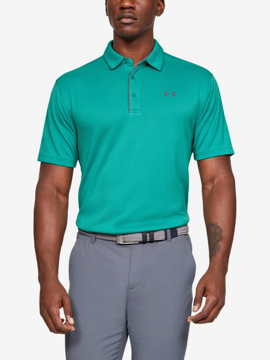 Tričko Under Armour Tech Polo-Grn Zelená