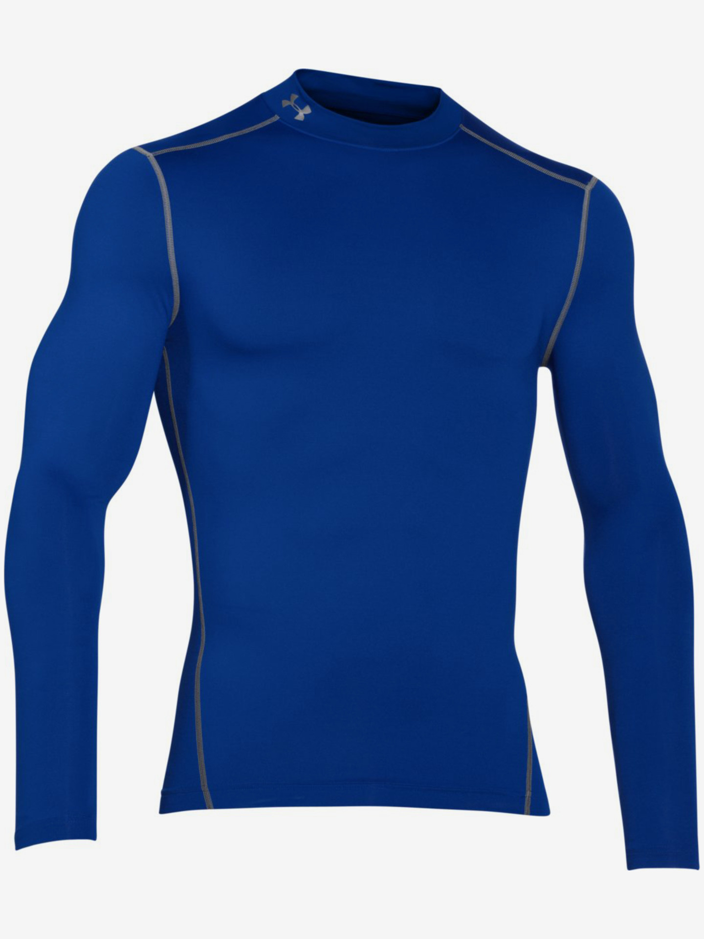 Pánské trička modrá ColdGear® Armour Compression Triko Under Armour (4)