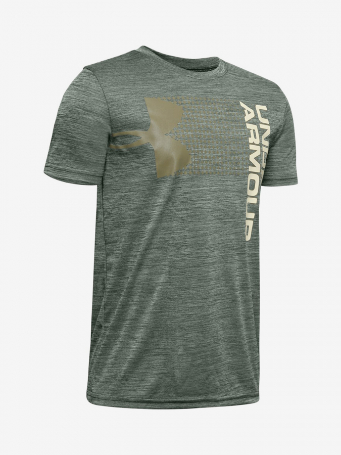 Tričko Under Armour Crossfade Tee-Grn Zelená