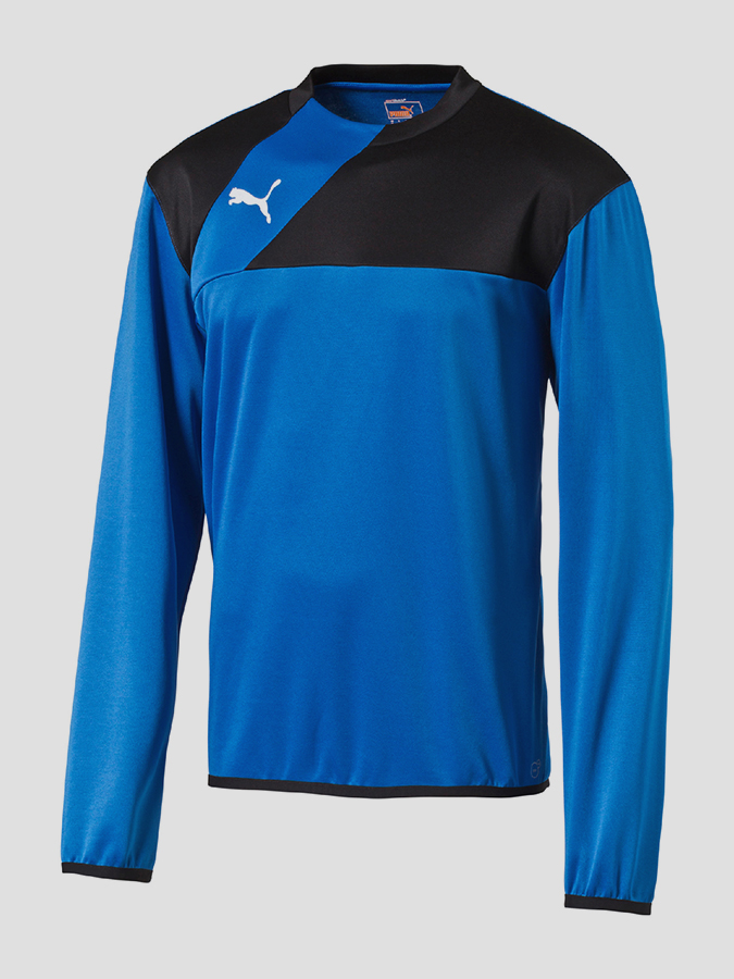 Dres Puma Esquadra Training Sweat Royal-Black Modrá