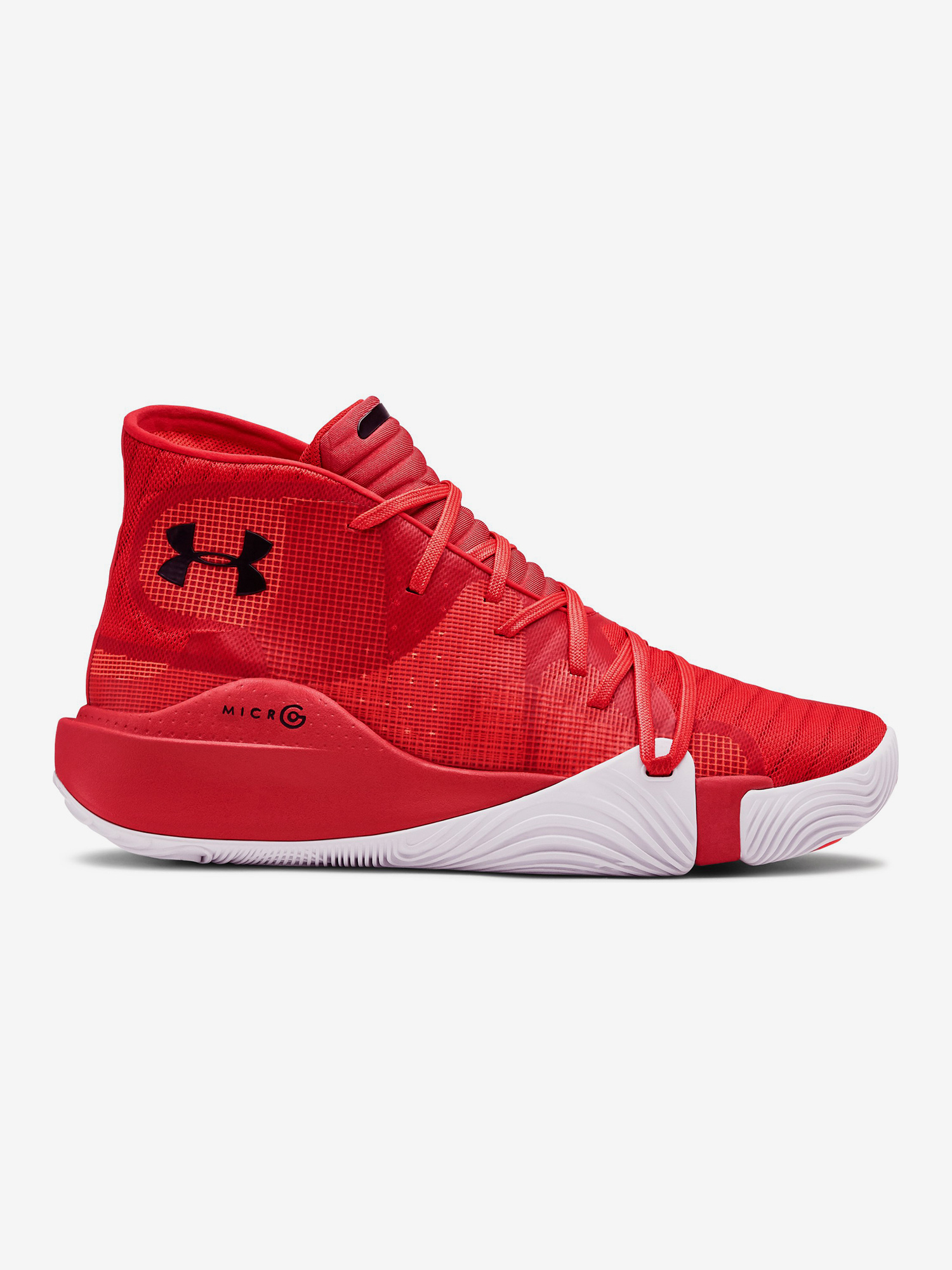 Boty Under Armour Spawn Mid-Red