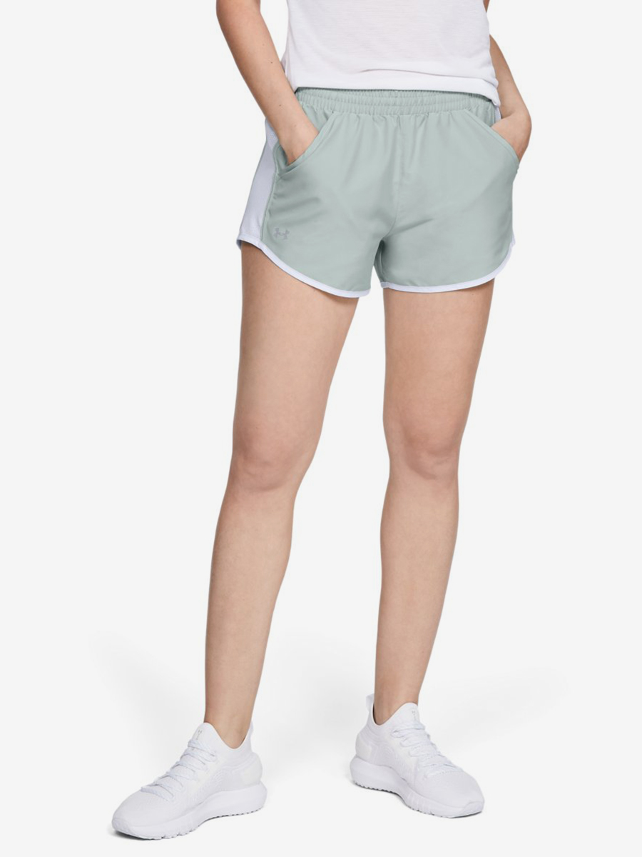Kraťasy Under Armour Fly By Short-Grn Zelená