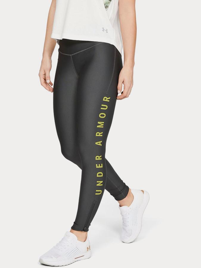 Kompresní legíny Under Armour Fly Fast Split Tight Šedá