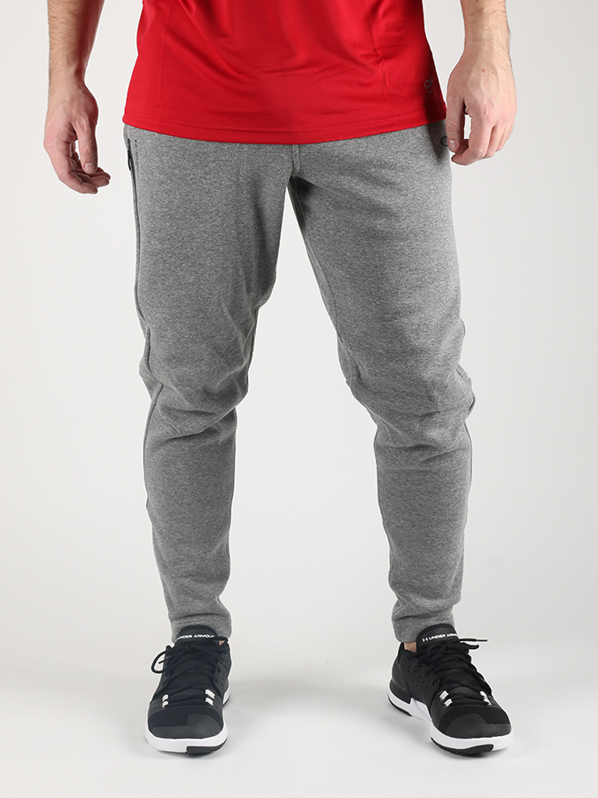 Tepláky Oakley Fp Tech Flc Pant Athletic Heather Grey Šedá
