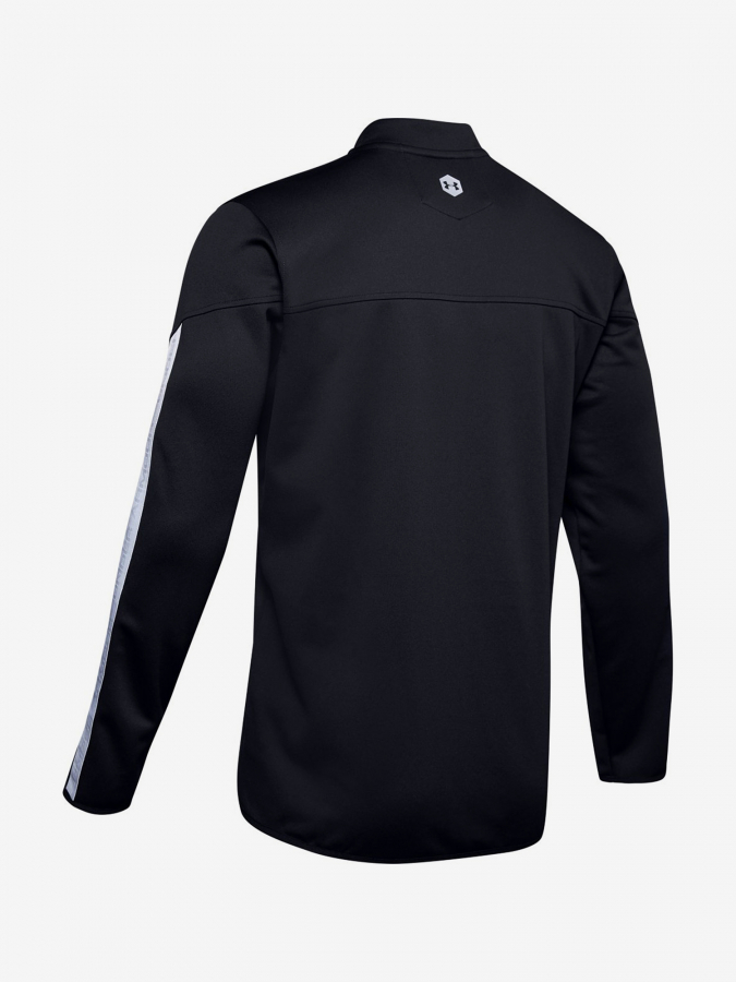 Mikina Under Armour Athlete Recovery Knit Warm Up Top-Blk (4)
