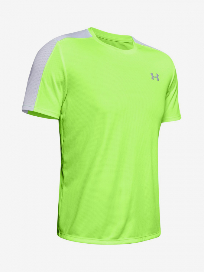 Tričko Under Armour Speed Stride Shortsleeve-Grn Žlutá
