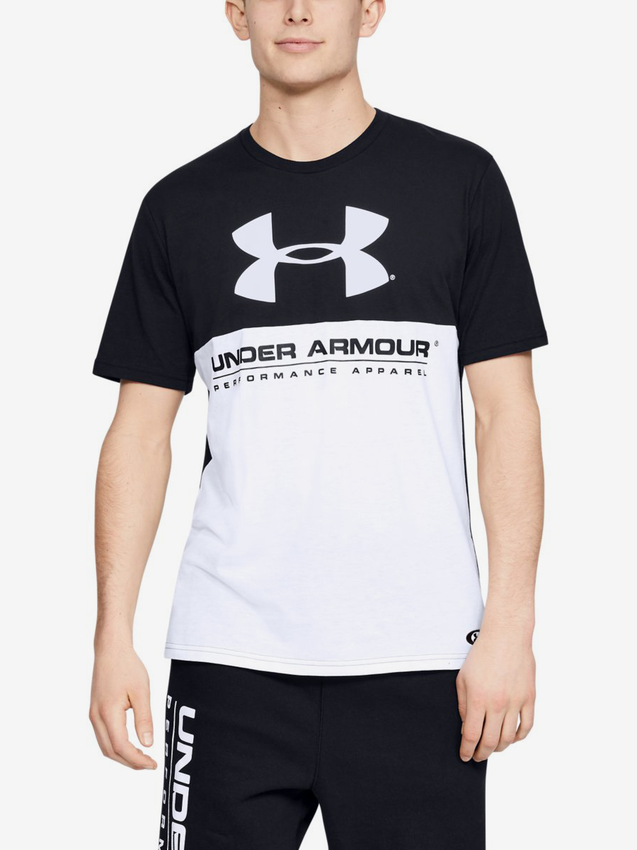 Tričko Under Armour Performance Apparel Color Blocked Ss Barevná