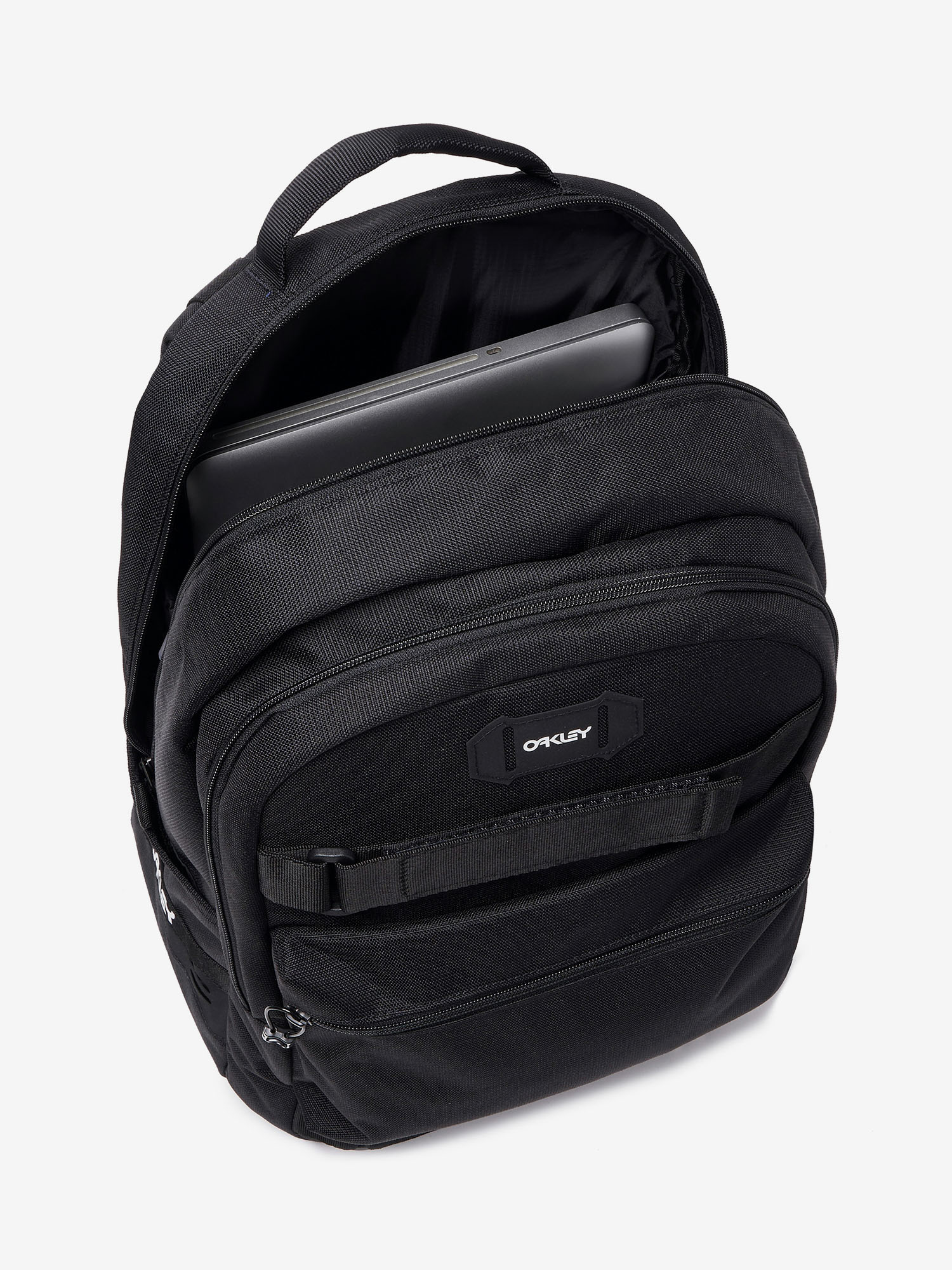 Batoh Oakley Street Skate Backpack Blackout (3)