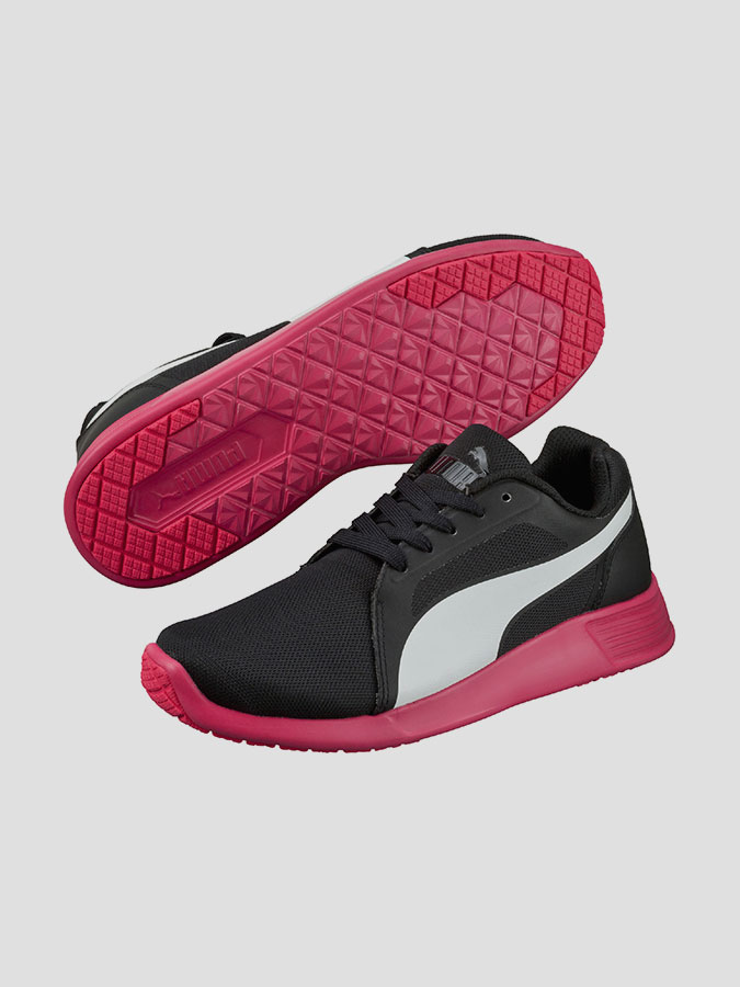 Boty Puma ST Trainer Evo black-white-rose red (1)