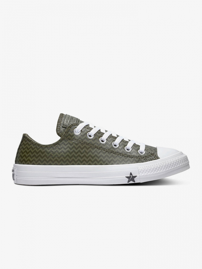 Boty Converse Chuck Taylor All Star Vltg Leather Zelená