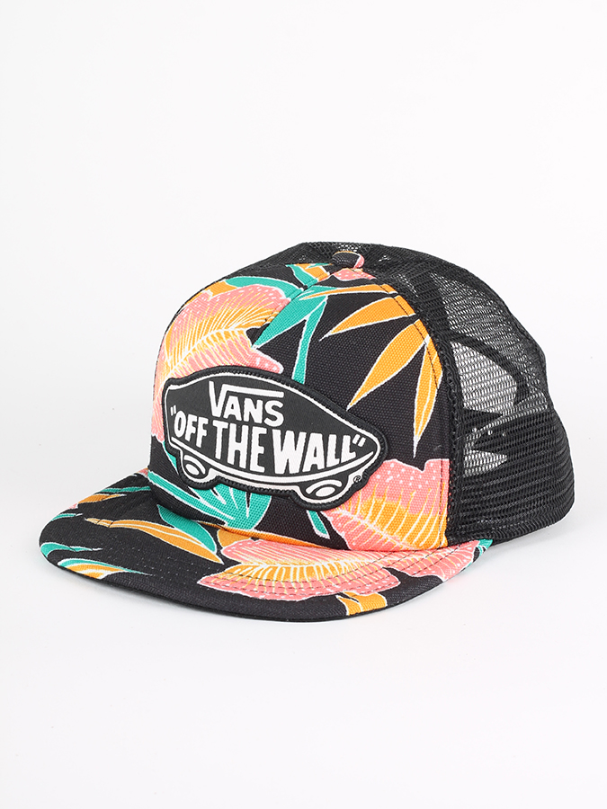 Kšiltovka Vans Wm Beach Girl Trucke Black Tropical (1)