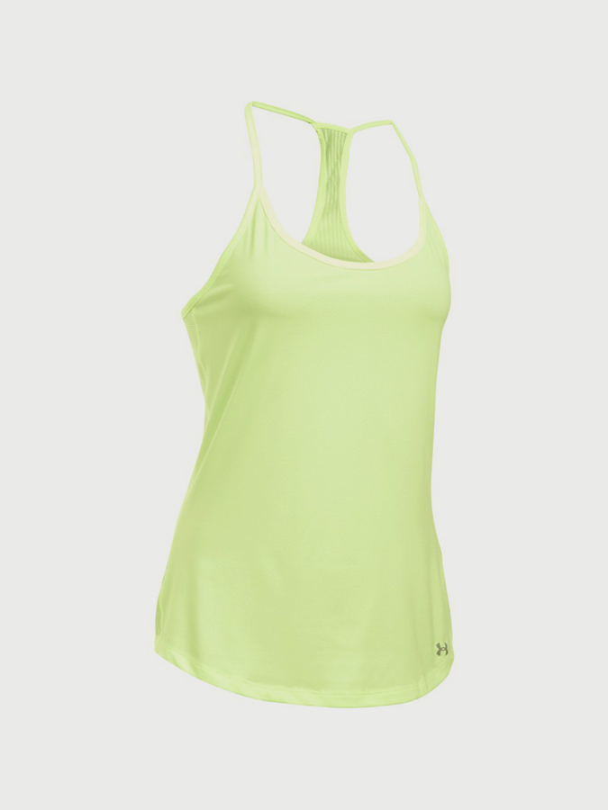 Tílko Under Armour Fly By Racerback Tank Žlutá