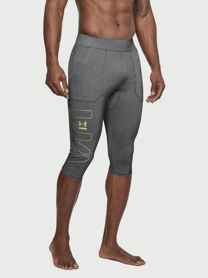 Kompresní legíny Under Armour Perpetl Half Legging Šedá