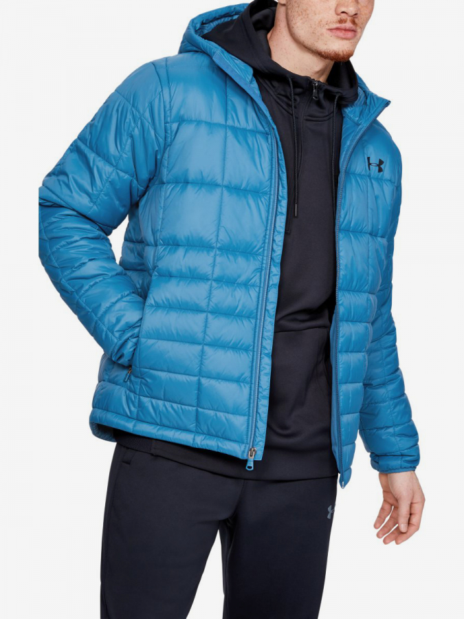 Bunda Under Armour Insulated Hooded Jkt-Blu Modrá