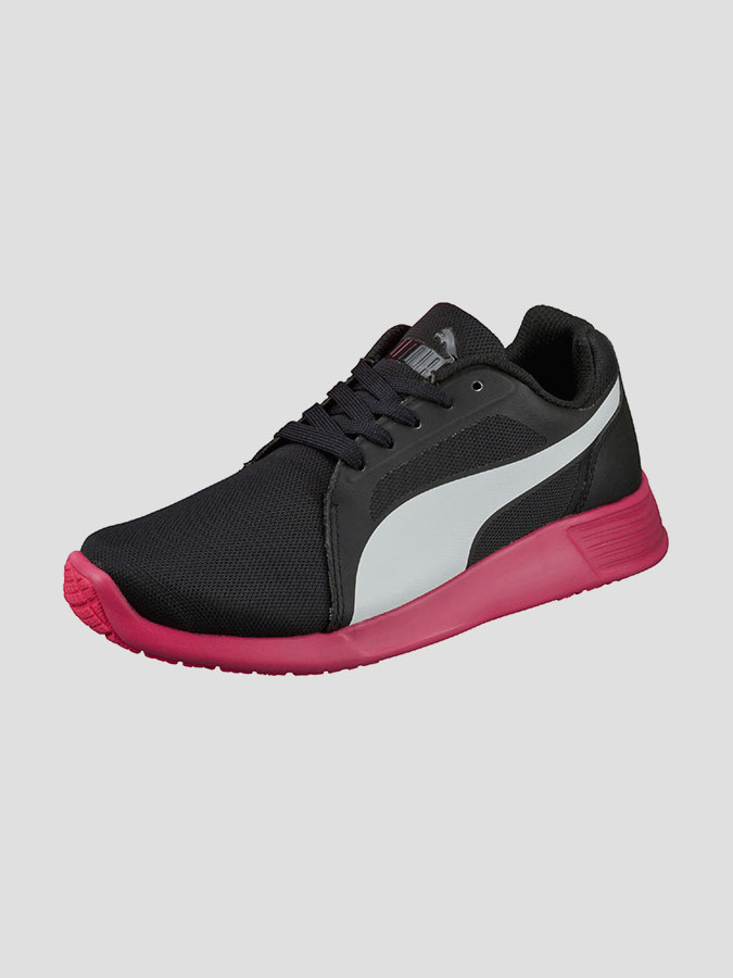 Boty Puma ST Trainer Evo black-white-rose red (3)