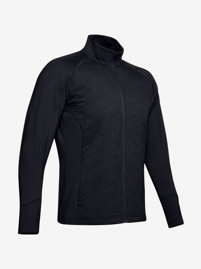 Bunda Under Armour Cg Reactor Run Insulated Jacket-Blk Černá