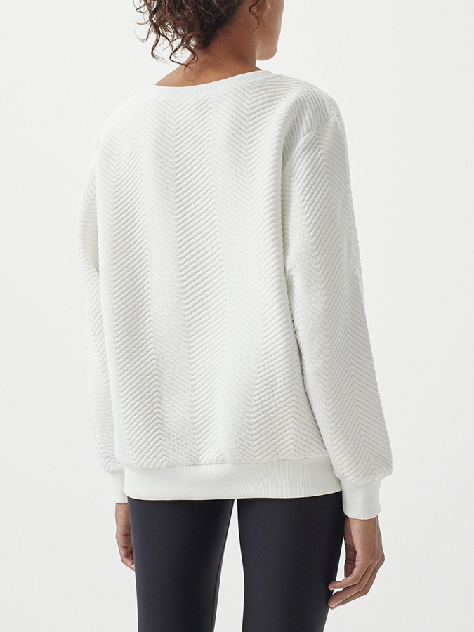 Mikina O´Neill LW Quilted Crew Sweatshirt (2)