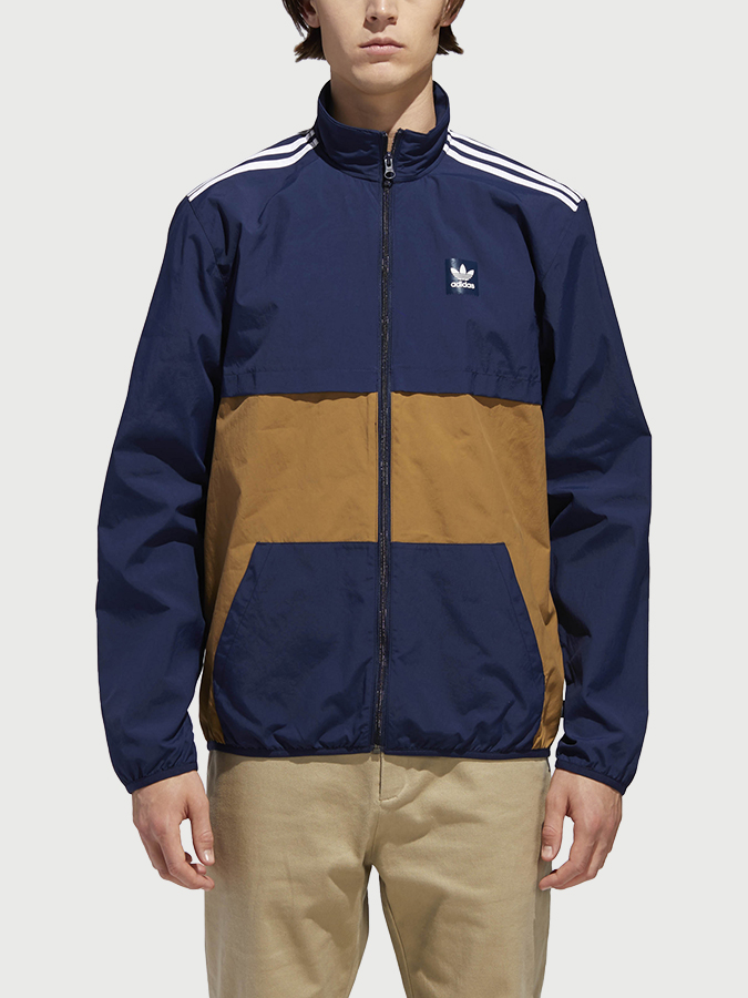 Bunda adidas Originals Class Action Jk Modrá