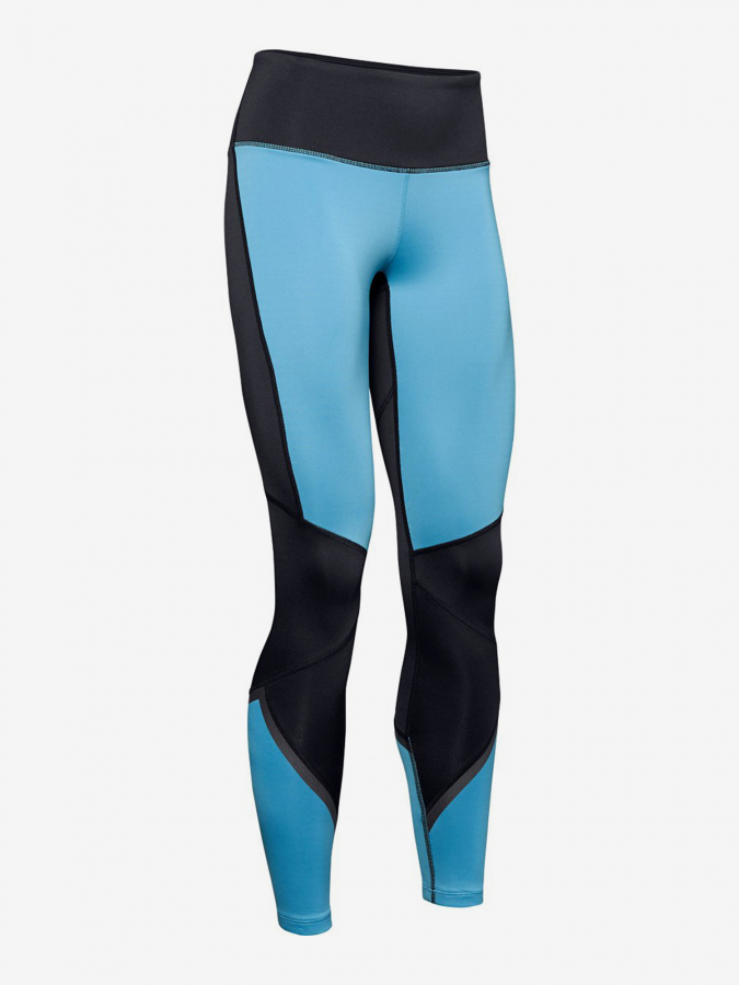 Kompresní legíny Under Armour Cg Legging Graphic-Blu Modrá