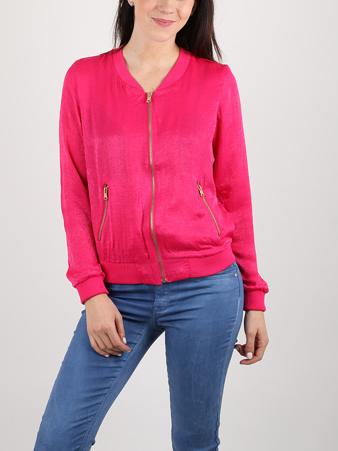 Bunda Alcott SATIN JACKET WITH ZIPS (1)